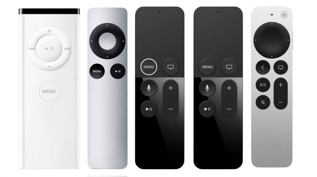 AppleTV remotes comparison